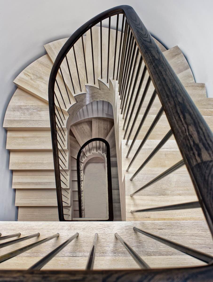 Project Description. Rustic Stairs